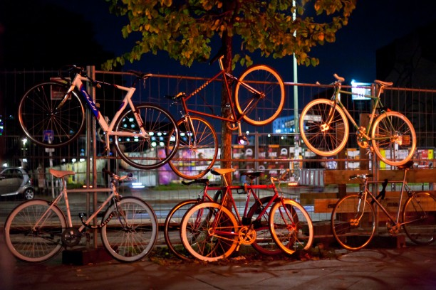 Festival of ights bike tree